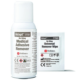 Medical Adhesive Remover Spray and Wipes